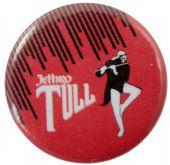 Jethro Tull - 'Ian Anderson Red' Button Badge